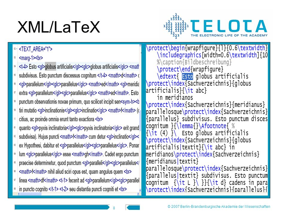 XML/LaTeX © 2007 Berlin-Brandenburgische Akademie der Wissenschaften