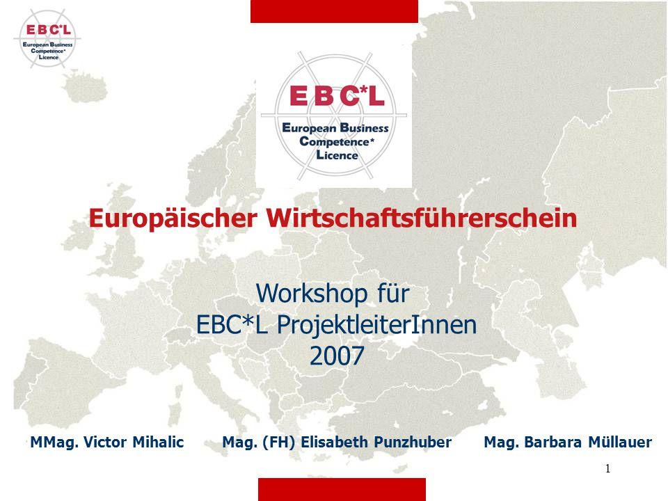 Workshop für EBC*L ProjektleiterInnen