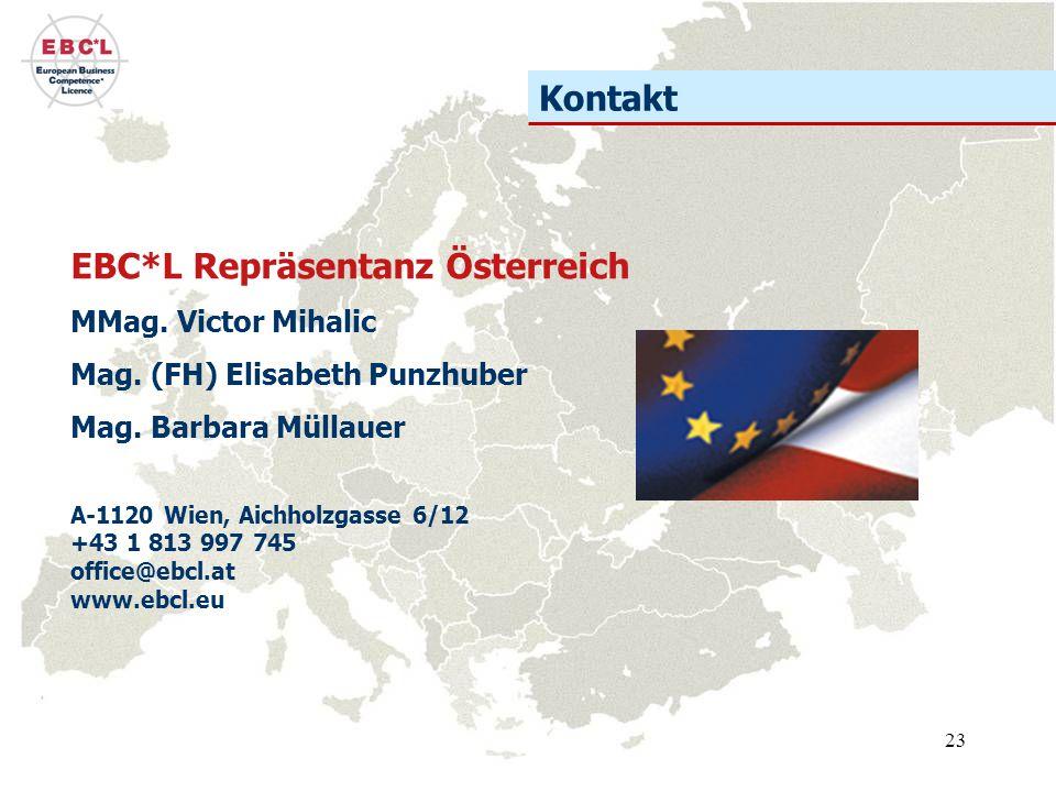 EBC*L Repräsentanz Österreich