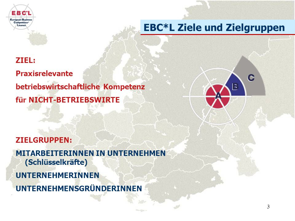 EBC*L Ziele und Zielgruppen