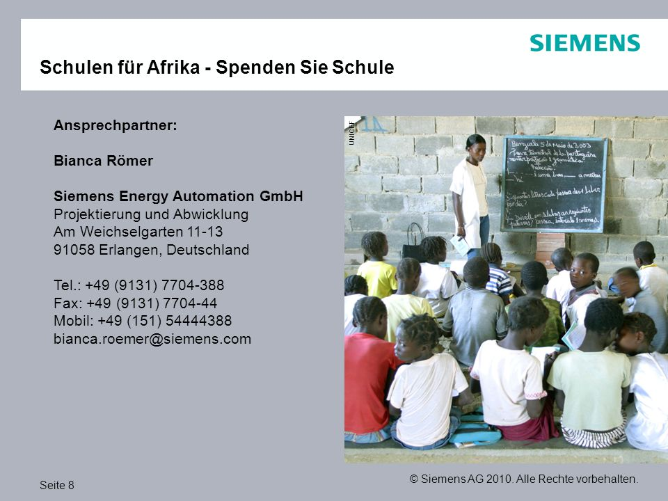 Schulen für Afrika - Spenden Sie Schule