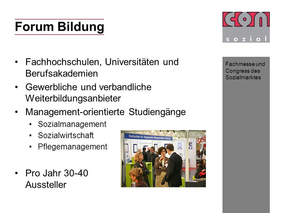 Forum Bildung Fachhochschulen, Universitäten und Berufsakademien