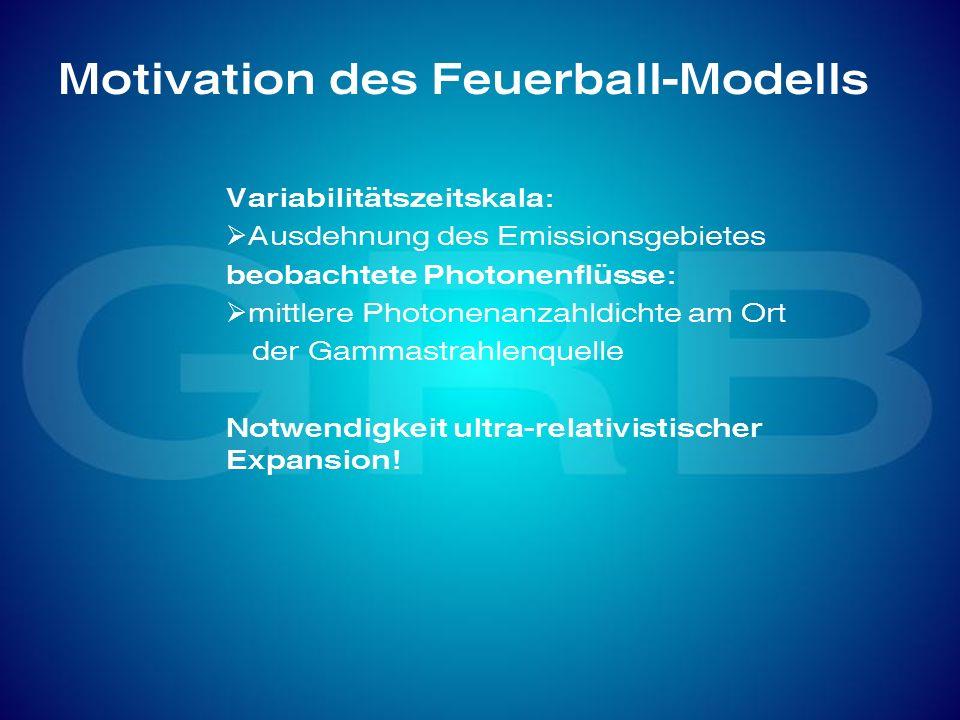 Motivation des Feuerball-Modells