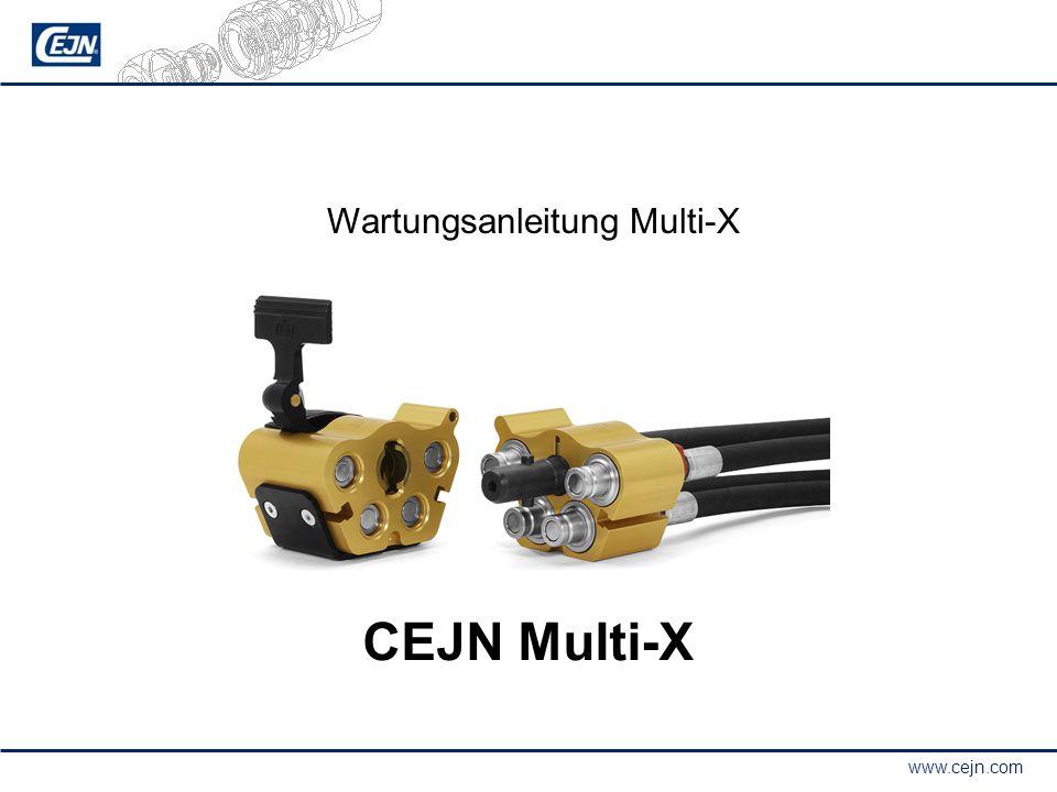 Wartungsanleitung Multi-X