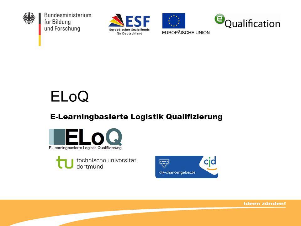 E-Learningbasierte Logistik Qualifizierung