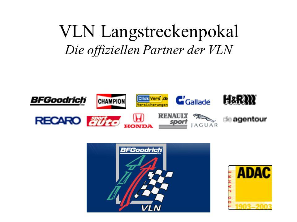 VLN Langstreckenpokal Die offiziellen Partner der VLN