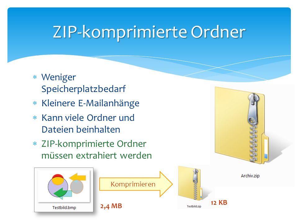 ZIP-komprimierte Ordner