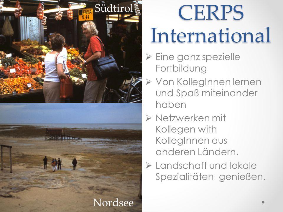 CERPS International Südtirol Nordsee Eine ganz spezielle Fortbildung