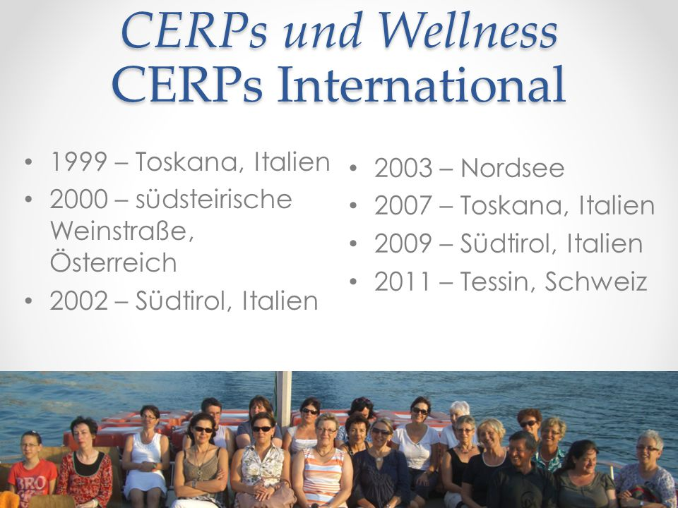 CERPs und Wellness CERPs International