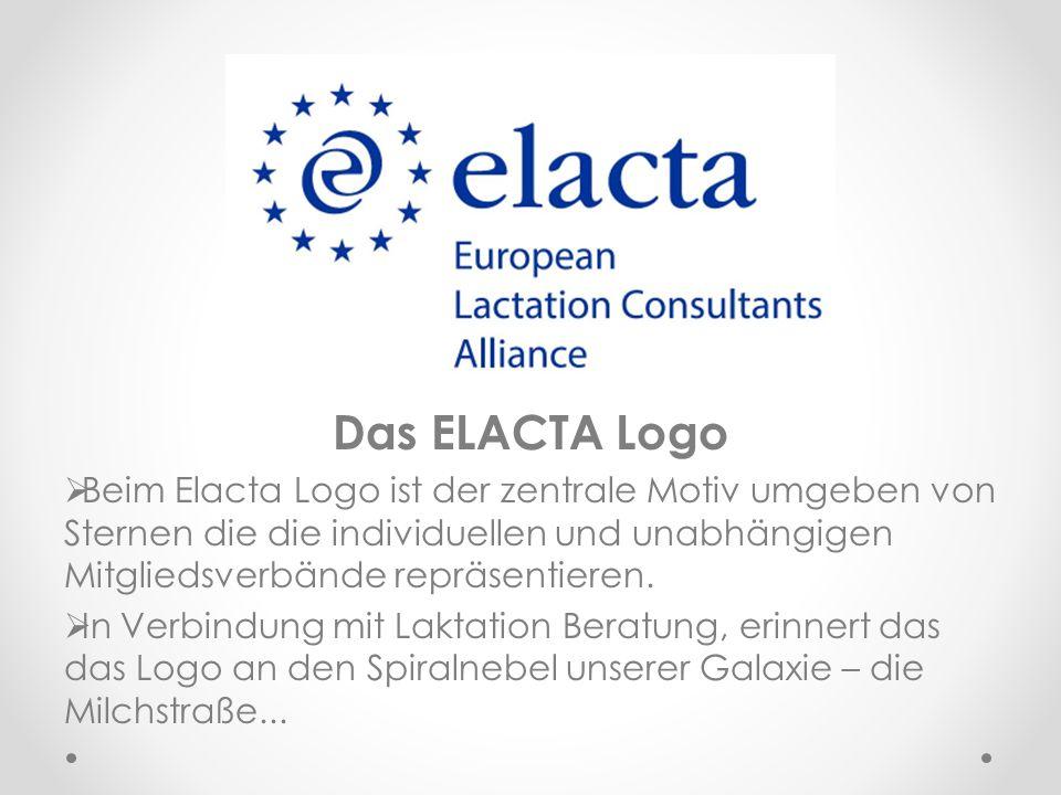 Das ELACTA Logo Beim Elacta Logo ist der zentrale Motiv umgeben von Sternen die die individuellen und unabhängigen Mitgliedsverbände repräsentieren.