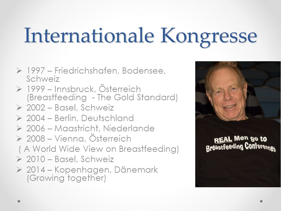 Internationale Kongresse