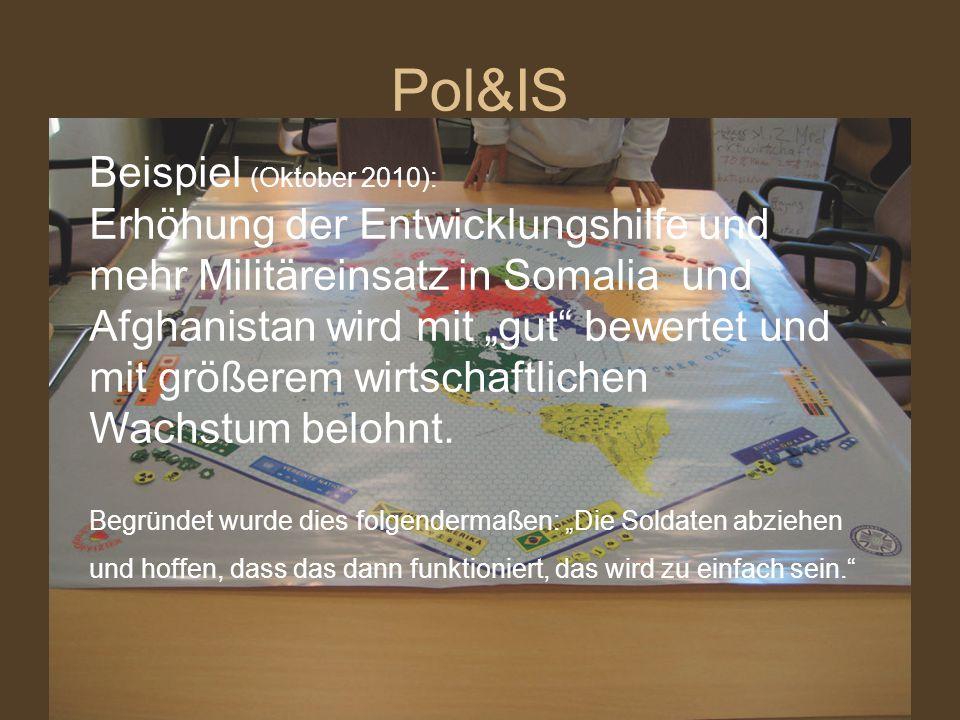 Pol&IS Beispiel (Oktober 2010):