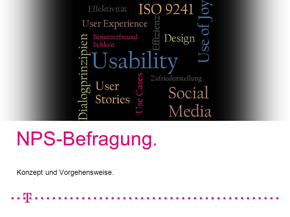 Autor / Thema der Präsentation Konzept und Vorgehensweise.
