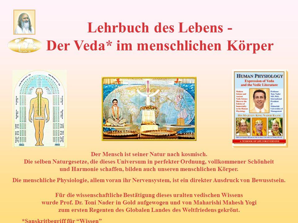 Lehrbuch des Lebens - Der Veda* im menschlichen Körper