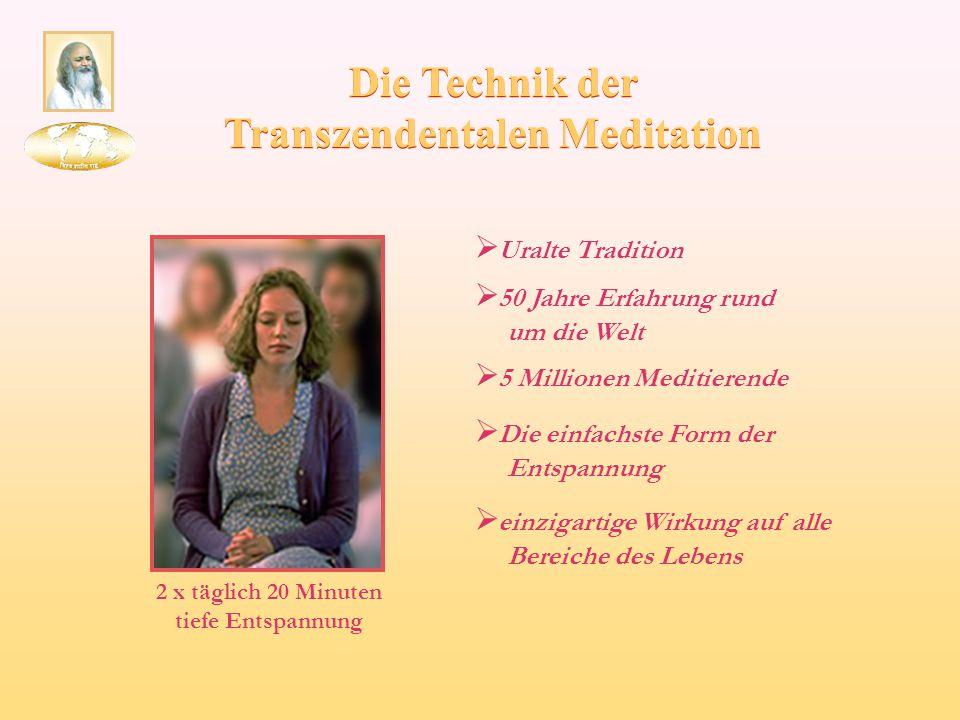 Die Technik der Transzendentalen Meditation