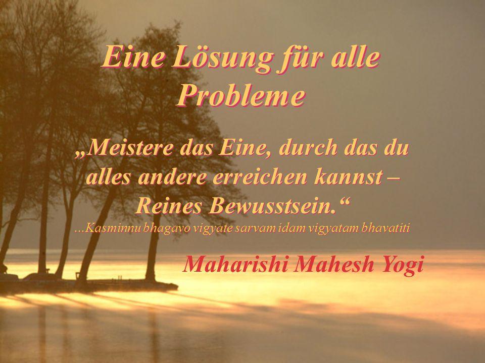 Eine Lösung für alle Probleme