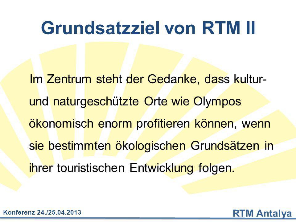 Grundsatzziel von RTM II