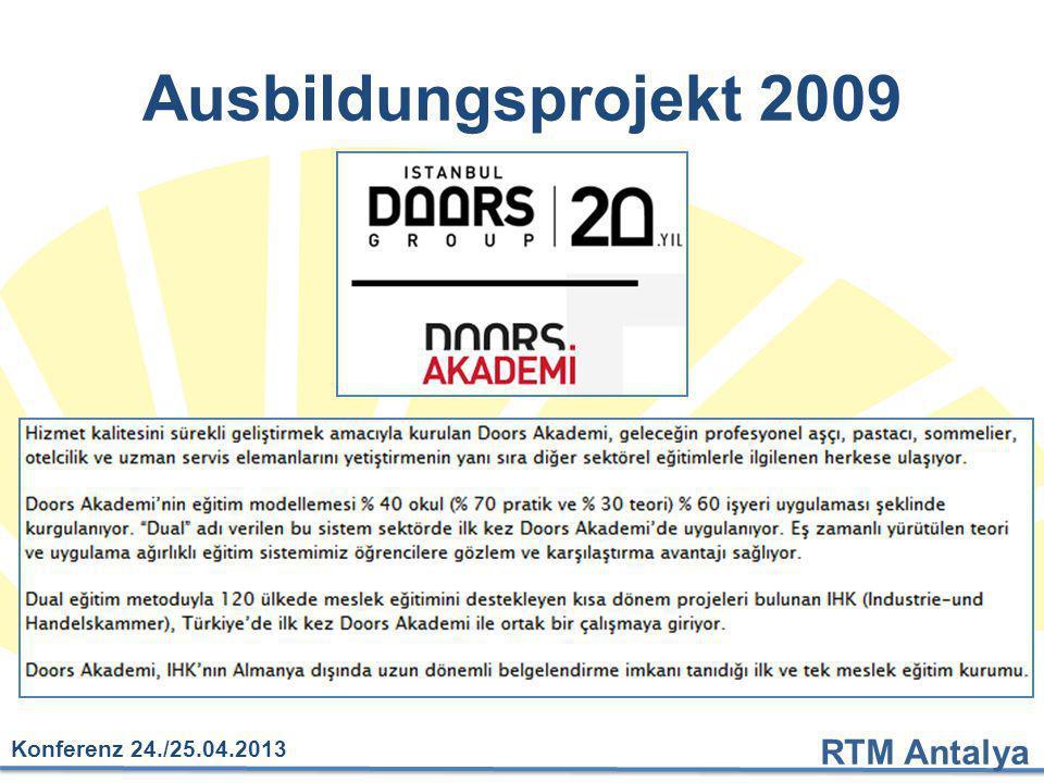 Ausbildungsprojekt 2009