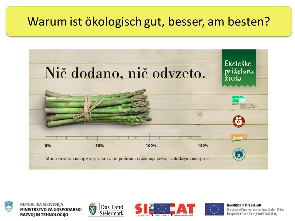 Nachhaltige Ernährung