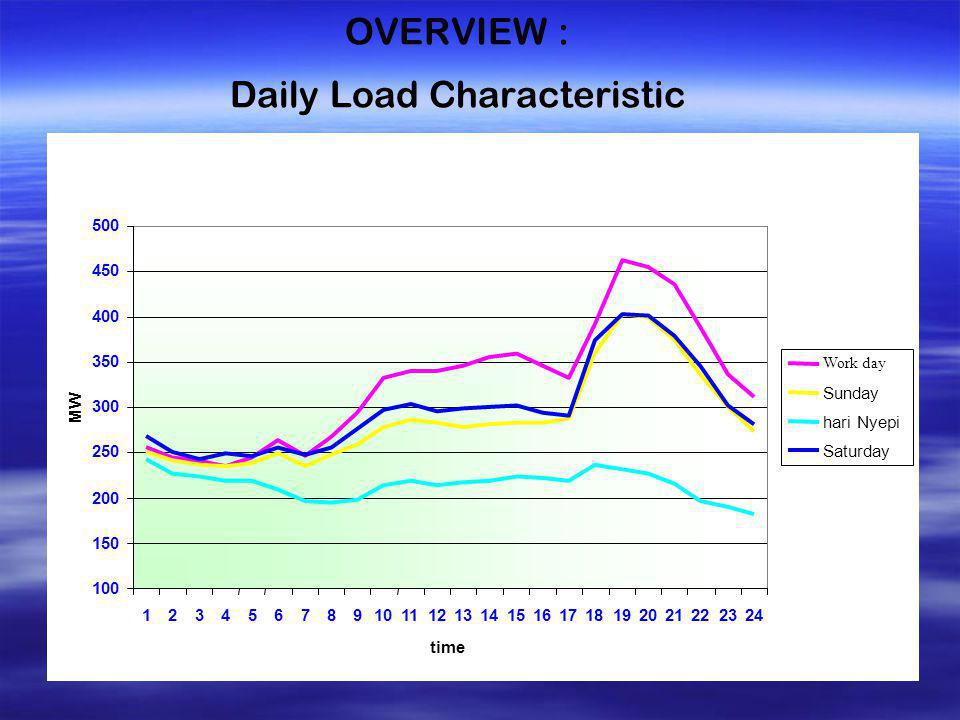 OVERVIEW : Daily Load Characteristic