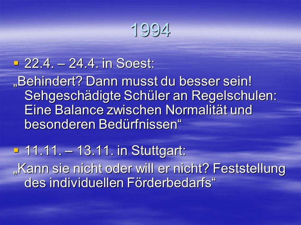 1994 22.4. – 24.4. in Soest: