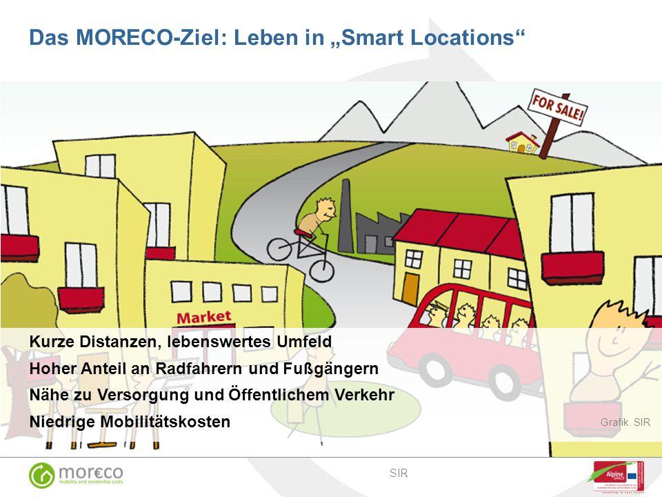 """Das MORECO-Ziel: Leben in """"Smart Locations"""