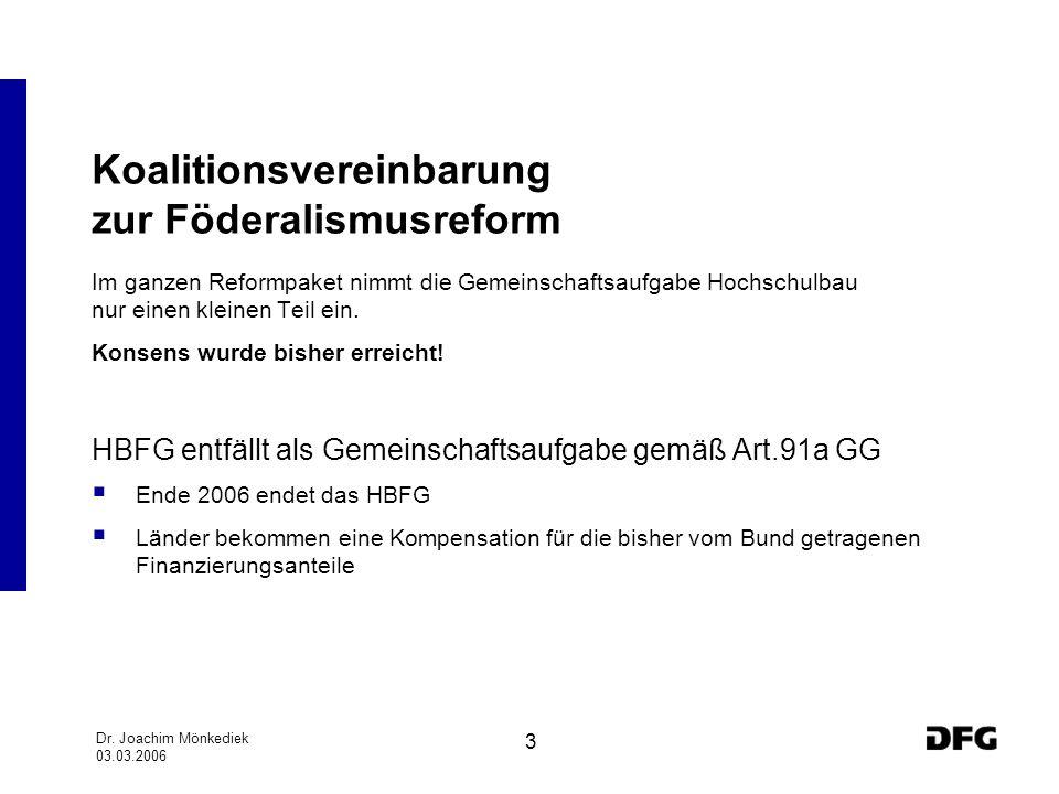 Koalitionsvereinbarung zur Föderalismusreform