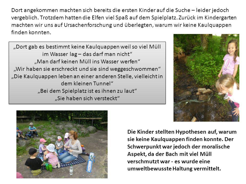 """""""Man darf keinen Müll ins Wasser werfen"""