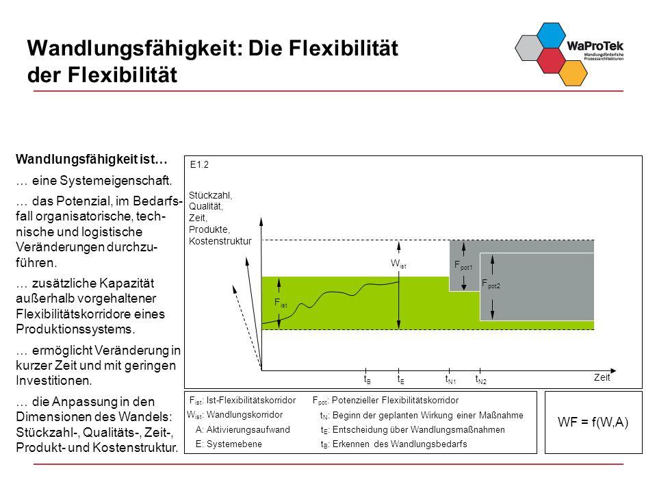 Wandlungsfähigkeit: Die Flexibilität der Flexibilität