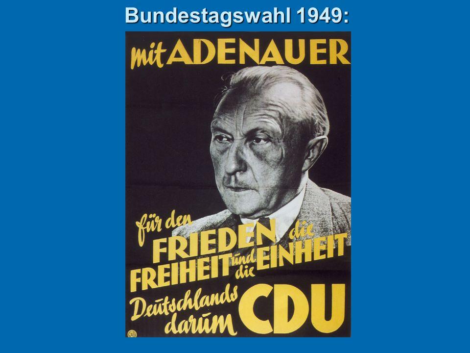 Bundestagswahl 1949:
