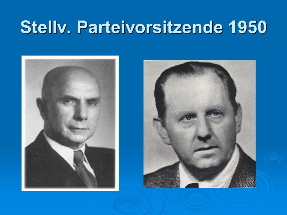 Stellv. Parteivorsitzende 1950