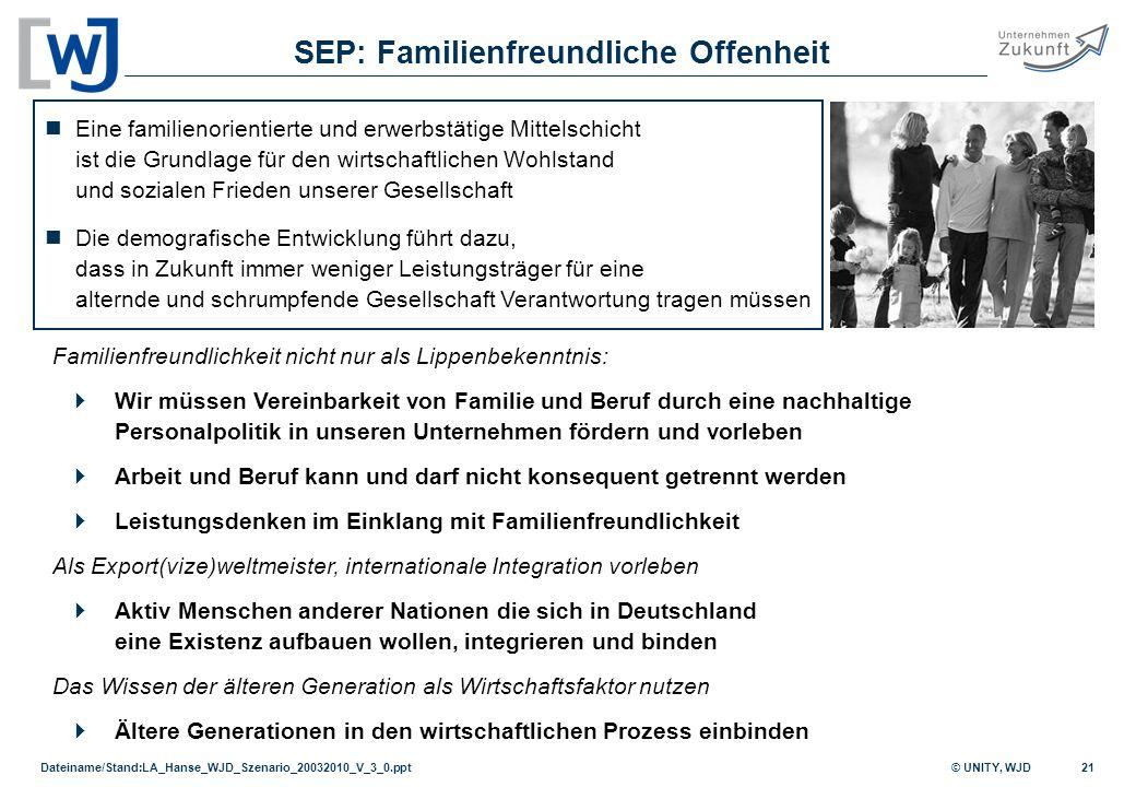 SEP: Familienfreundliche Offenheit