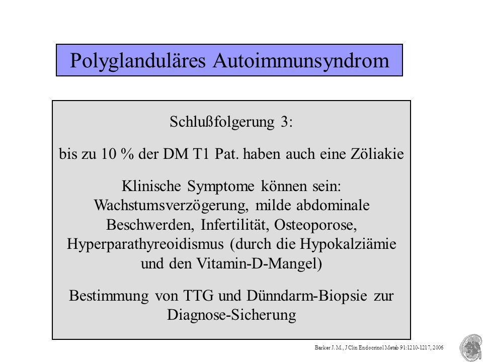 Polyglanduläres Autoimmunsyndrom