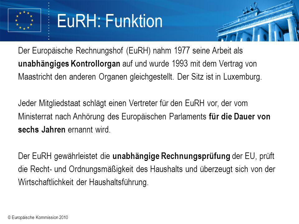 EuRH: Funktion