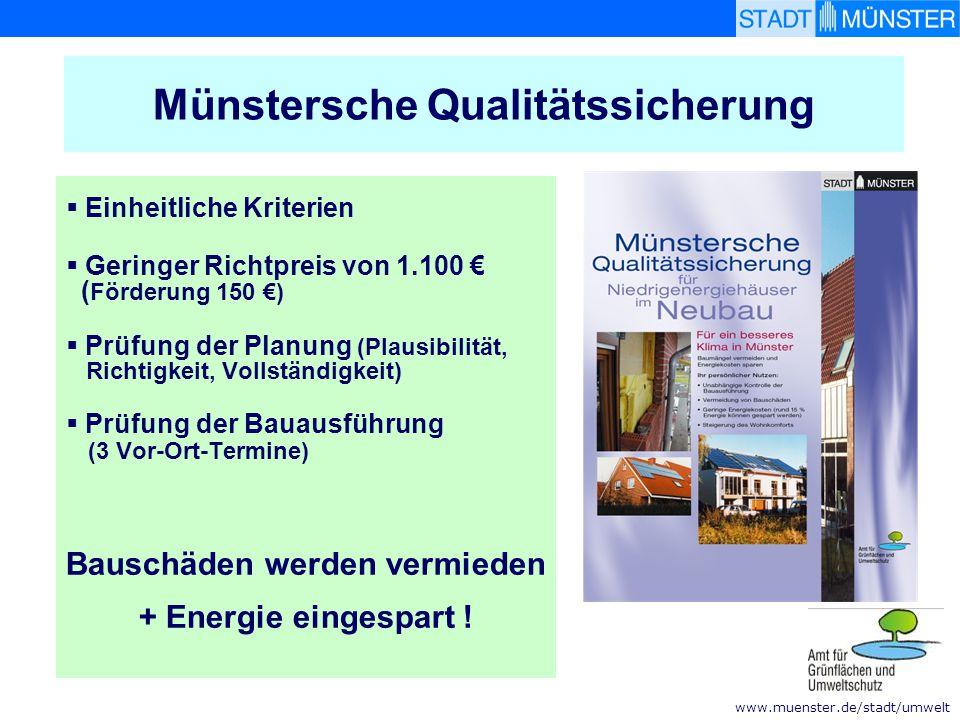 Münstersche Qualitätssicherung