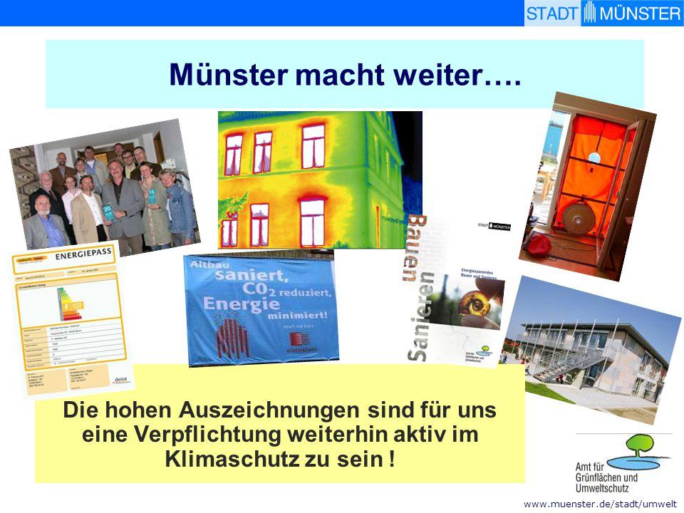 Münster macht weiter….