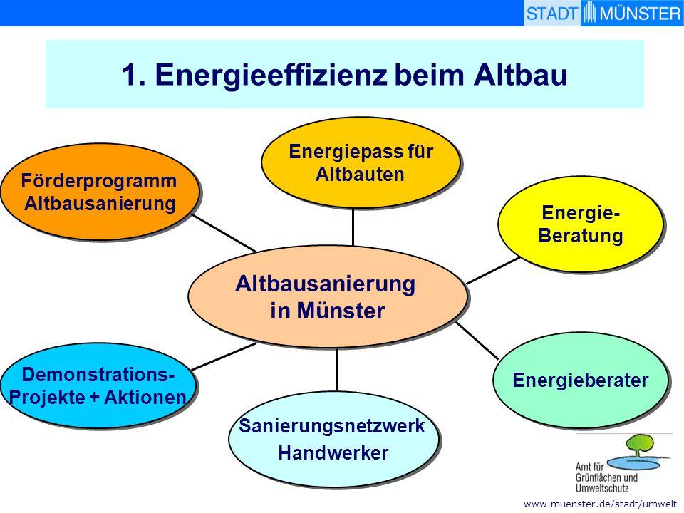 1. Energieeffizienz beim Altbau