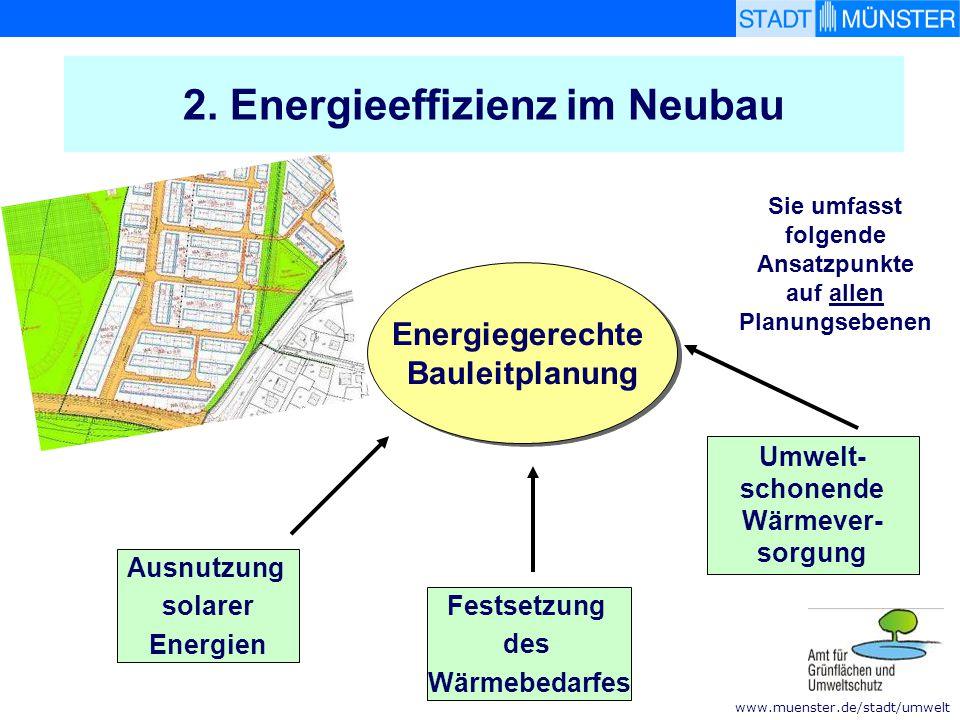 2. Energieeffizienz im Neubau
