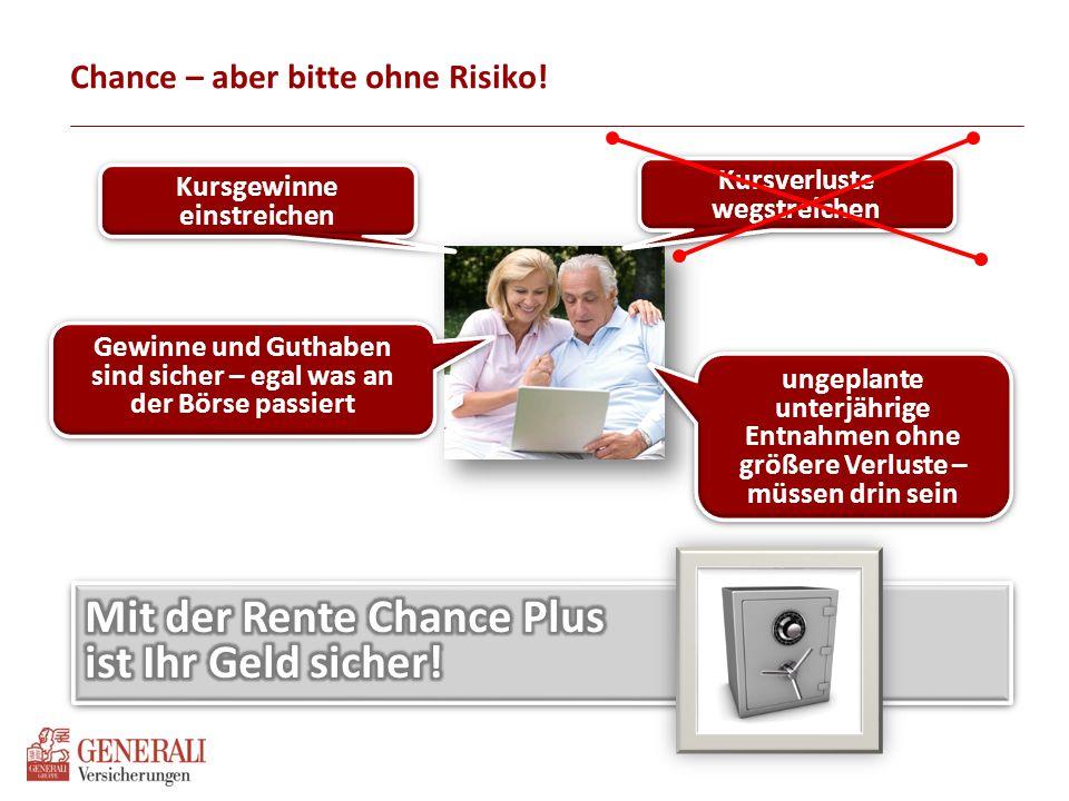 Generali Rente Chance Plus Das Konzept im Überblick