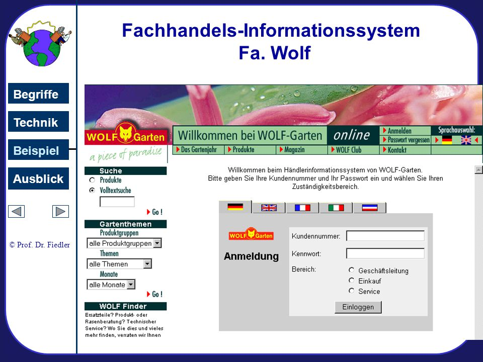 Fachhandels-Informationssystem