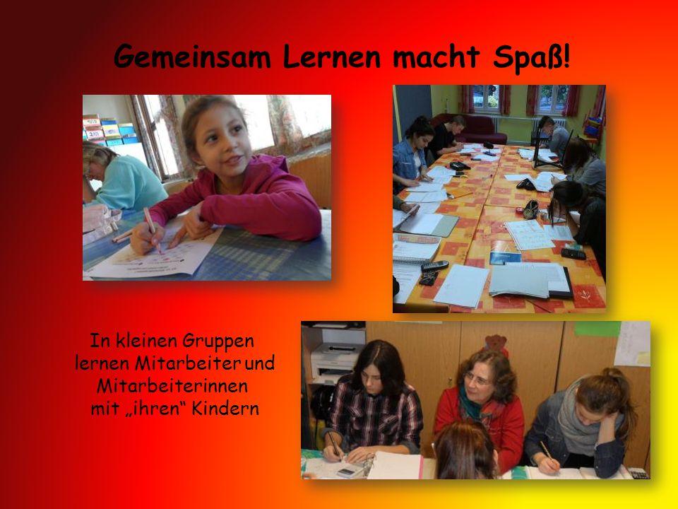 Gemeinsam Lernen macht Spaß!
