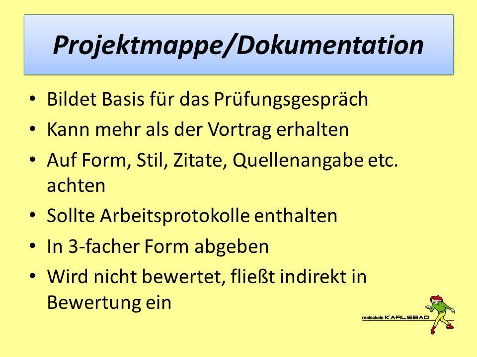 Projektmappe/Dokumentation