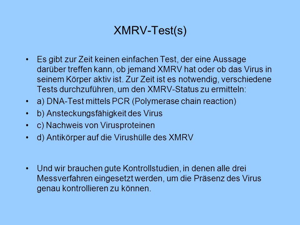 XMRV-Test(s)