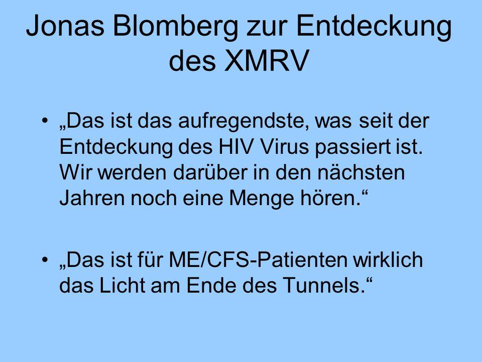 Jonas Blomberg zur Entdeckung des XMRV