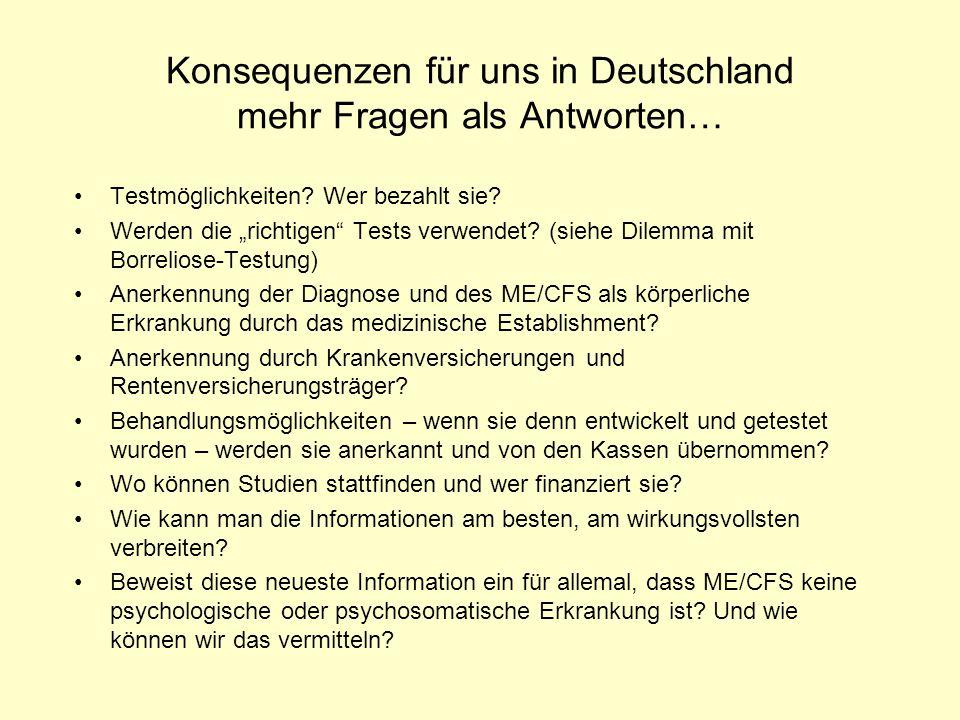 Konsequenzen für uns in Deutschland mehr Fragen als Antworten…