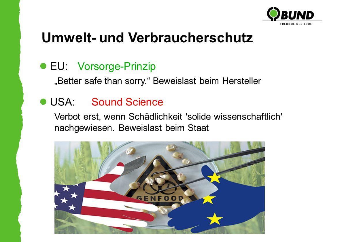 Umwelt- und Verbraucherschutz