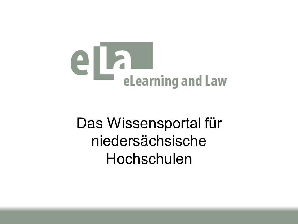 Das Wissensportal für niedersächsische Hochschulen