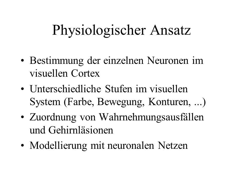 Physiologischer Ansatz