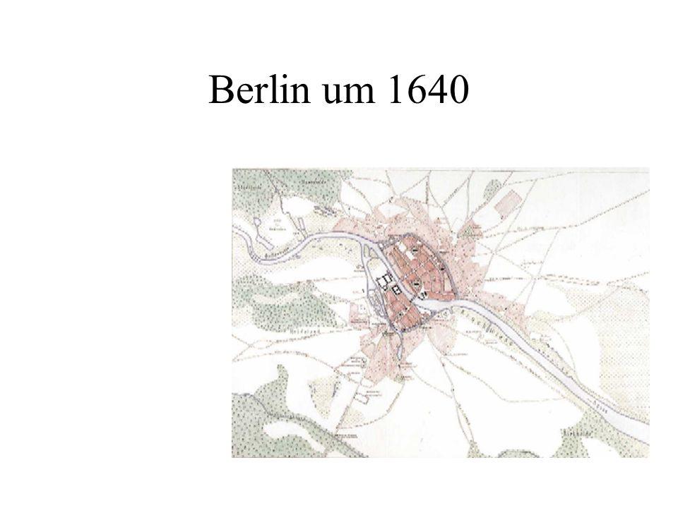 Berlin um 1640