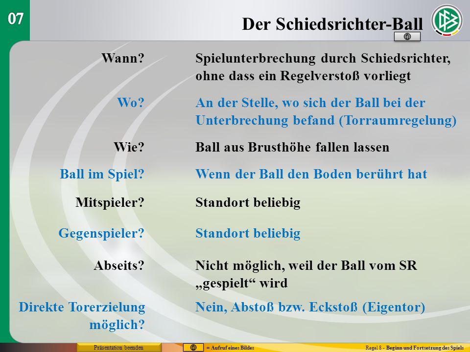 Der Schiedsrichter-Ball